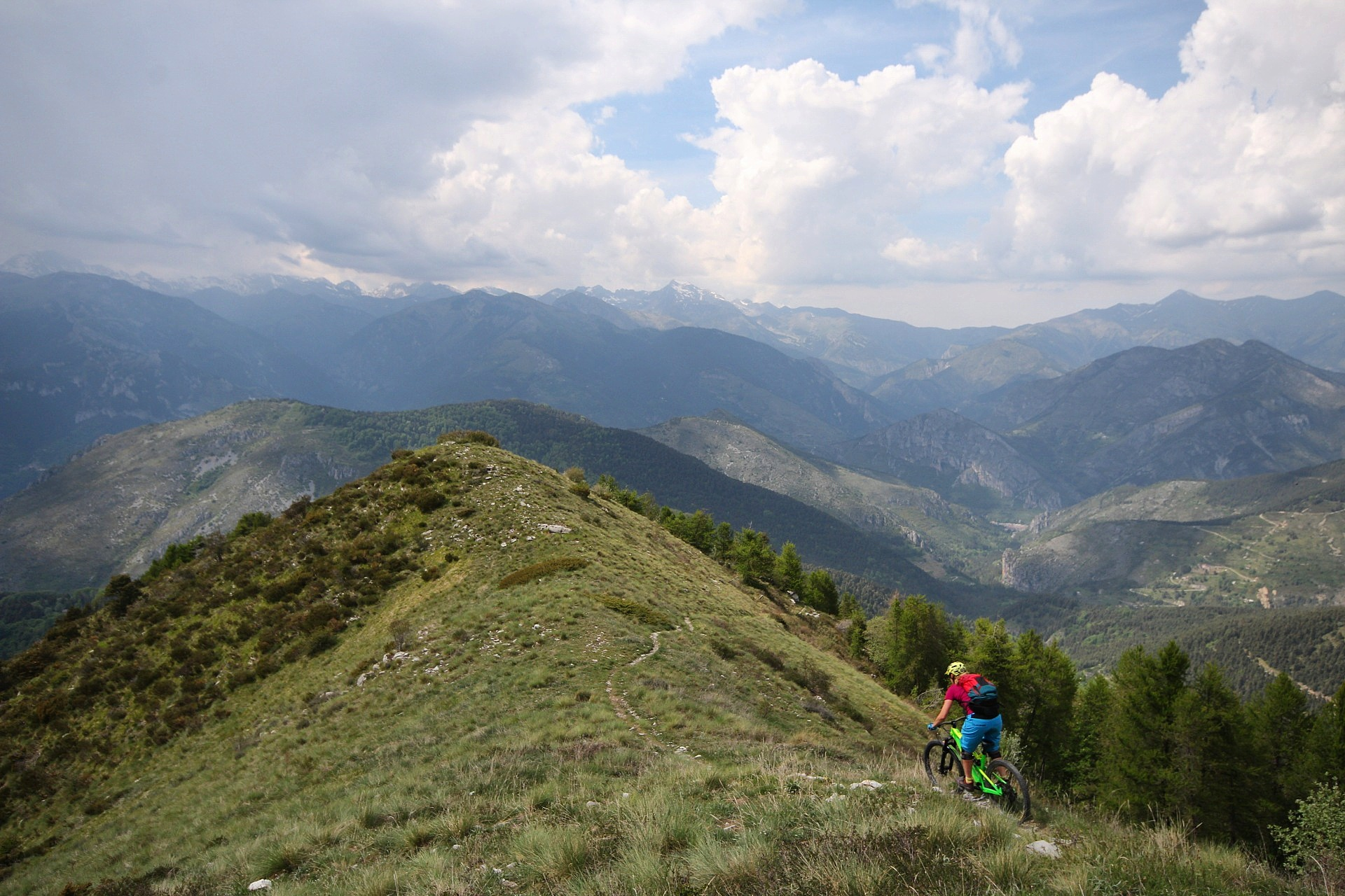 Trail Gold In The Maritime Alps The Inside Line Mtb